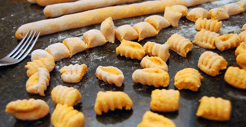 recetas de pasta light: ñoquis
