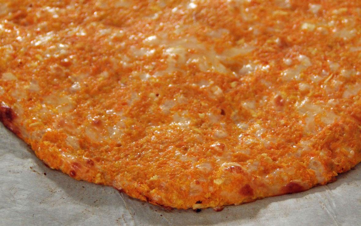 pizzas veganas zanahorias