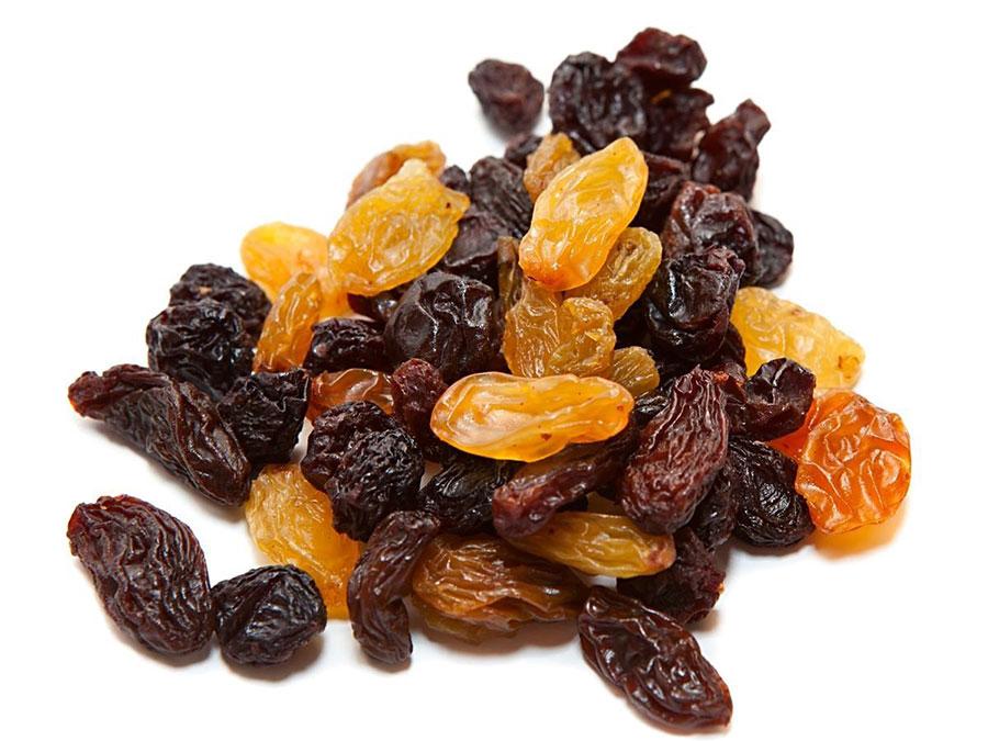 beneficios de los frutos secos pasas
